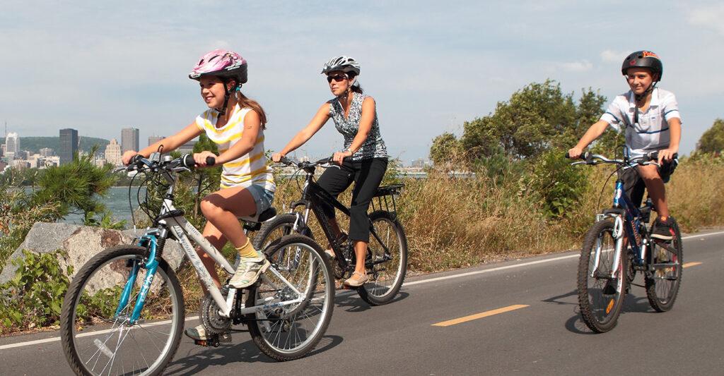 popular bike paths open