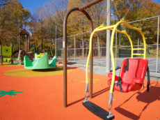 Inclusive playground in Beaconsfield