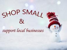 Support local merchants this season