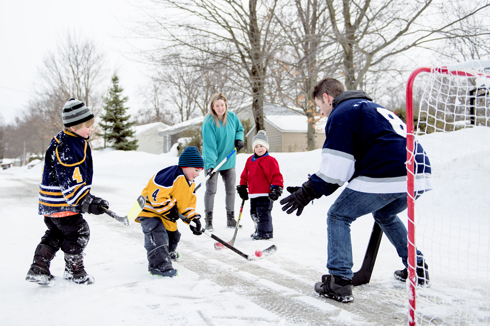 Families challenged to be active