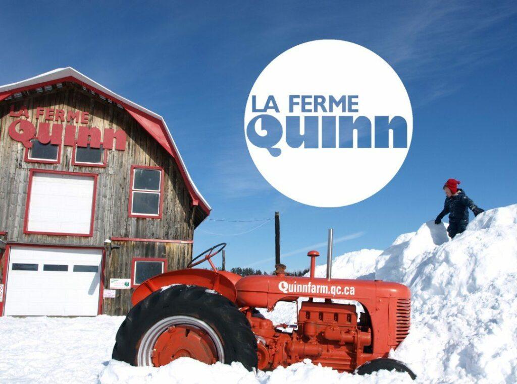 Enjoy a winter walk at Quinn Farm