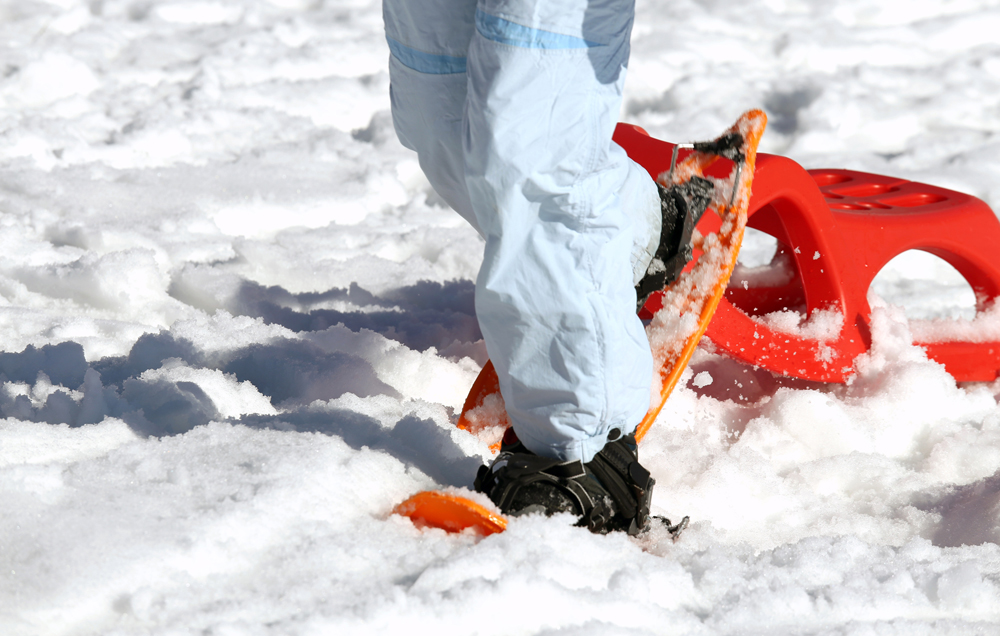 Borrow winter equipment for free