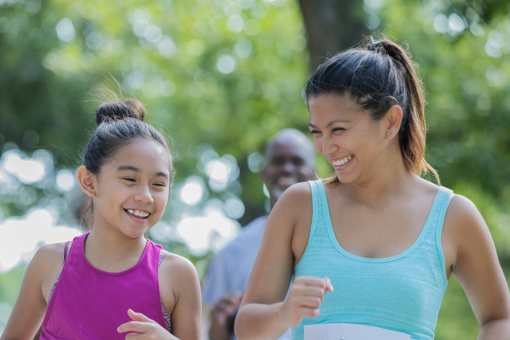 Fitness challenge for moms & daughters