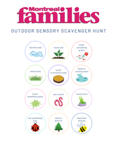 Liven up your walks with scavenger hunts
