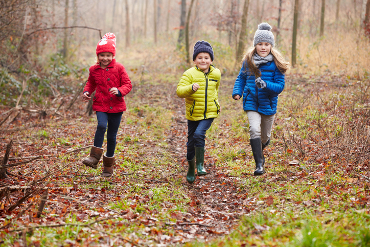 Family-friendly race on Mont-Rigaud