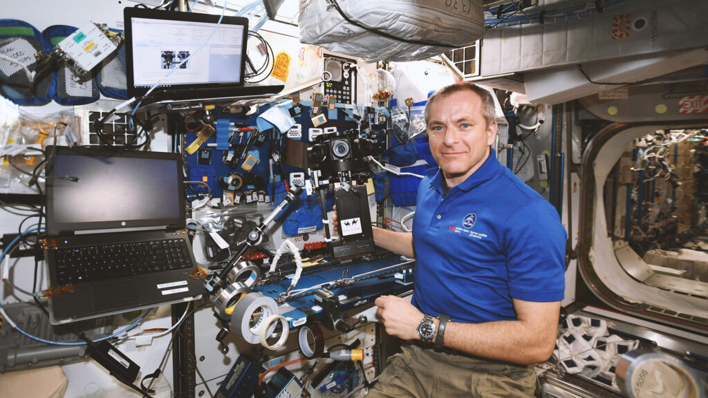 Movie showcases life of an astronaut